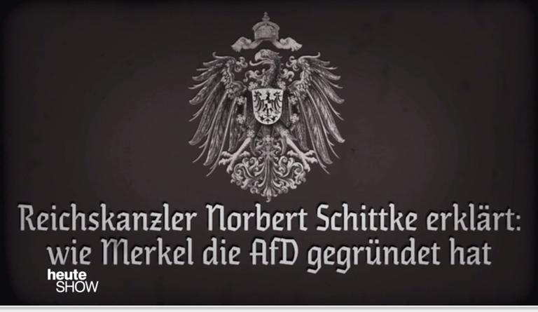 Neues vom Reichskanzler