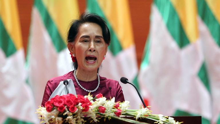 Myanmars Regierungschefin Suu Kyi zur Gewalt gegen Rohingya