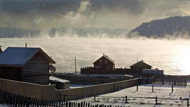Kälte in Sibirien