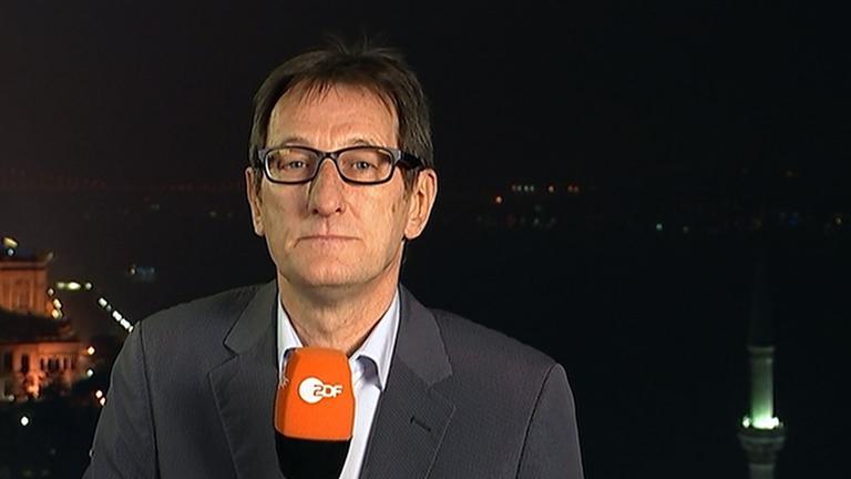 ZDF-Korrespondent Luc Walpot in Istanbul