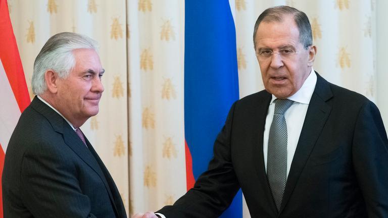 Tillerson in Moskau