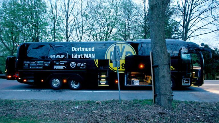Dortmund Bus nach Anschlag