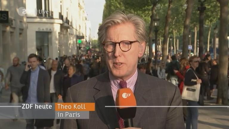 Theo Koll in Paris