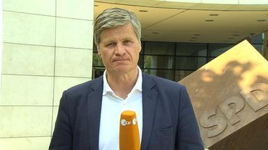 Thomas Walde berichtet live aus Berlin über das Wahlprogramm der SPD.
