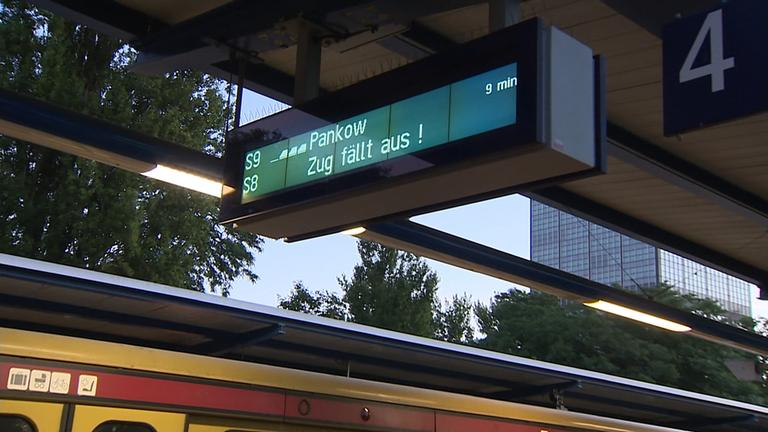 Anzeigetafel Bahn