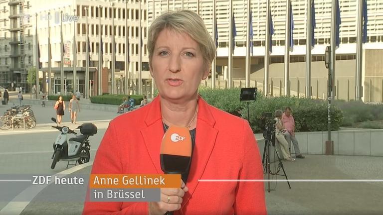 Anne Gellinek in Brüssel