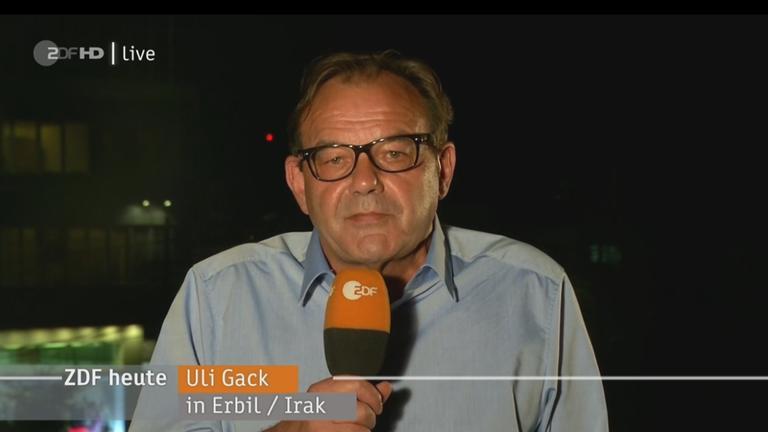 Uli Gack im Irak