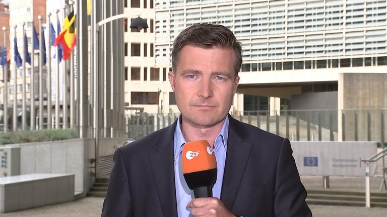 Leifert berichtet aus Brüssel über die Sanktionen der EU für Polen.