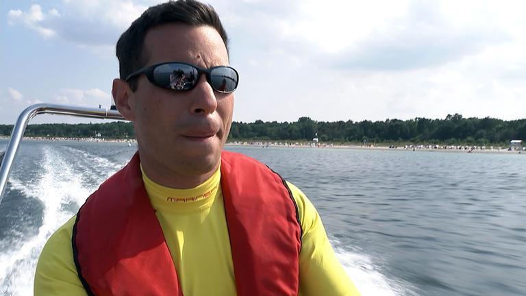 DLRG Rettungsschwimmer