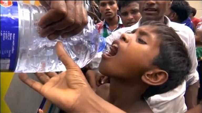Rohingyas kämpfen ums Überleben