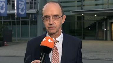Jürgen Bollmann berichtet über die Forderungen der CSU an die CDU.