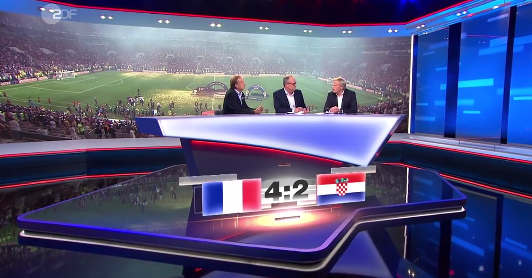 FIFA WM 2018 live - ZDFmediathek