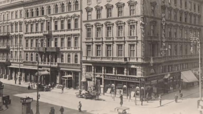 1876 wurde das Hotel Sacher eröffnet