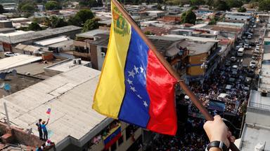 Auslandsjournal - Machtkampf Um Venezuela - Ein Land Am Abgrund