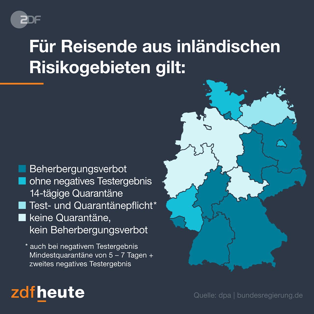 Schleswig Holstein Dritter Bezirk Berlins Risikogebiet Zdfheute