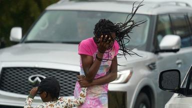 Nano - Hurricane Wütet Im Süden Der Usa