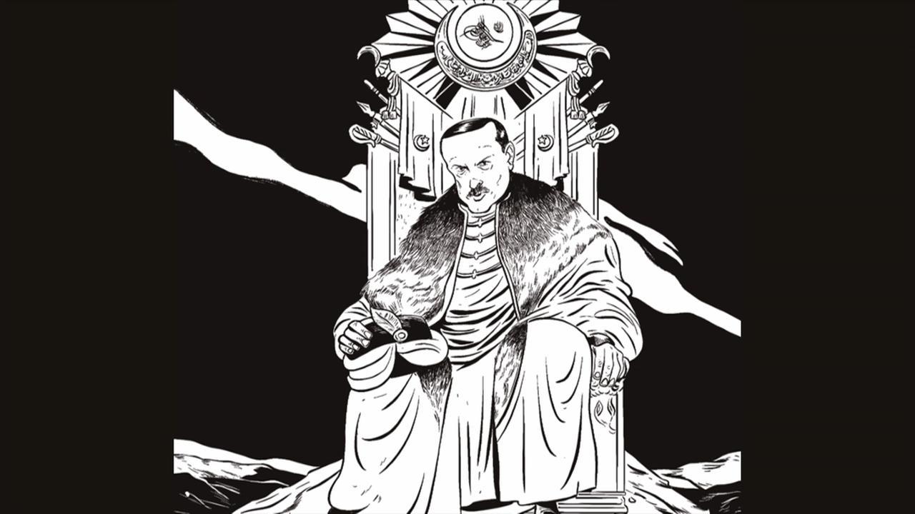 Can Dündars Graphic-Novel über Erdogan