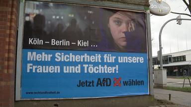 Werbeplakat der AfD