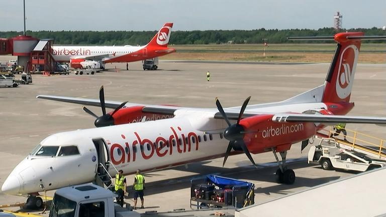 Ungewisse Zukunft bei Air Berlin