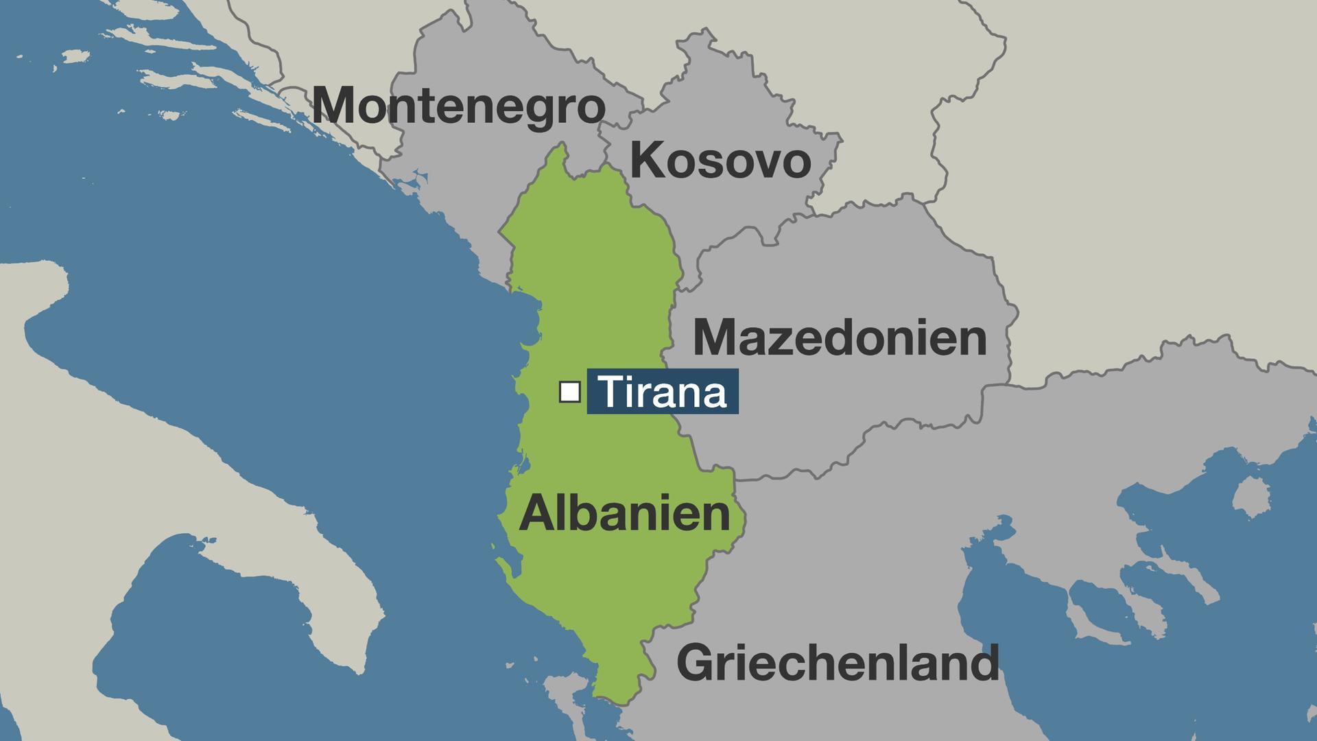 Karte Albanien.Unruhen In Albanien Mato Alltag Wird Für Albaner Immer Härter
