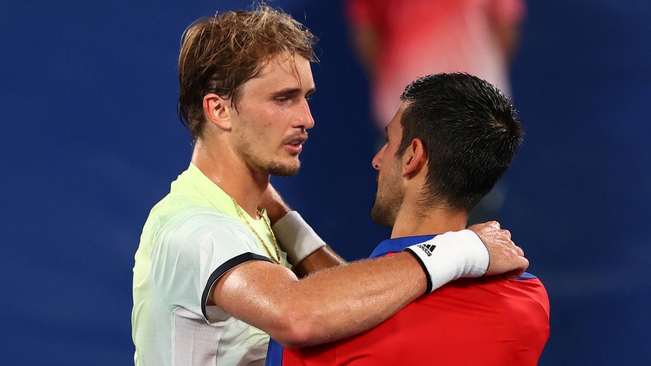 Zverev gewinnt spektakulär gegen Djokovic | Olympia - Tokio 2020