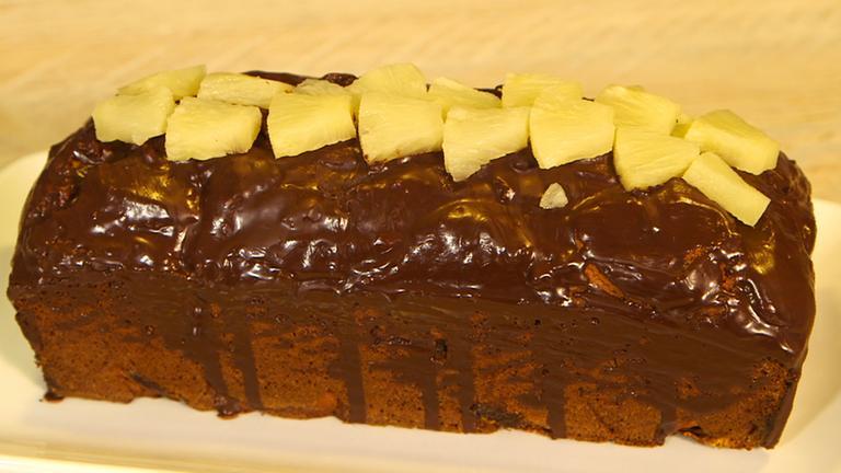 Rezept Angelas Ananas Marzipan Kuchen Zdfmediathek