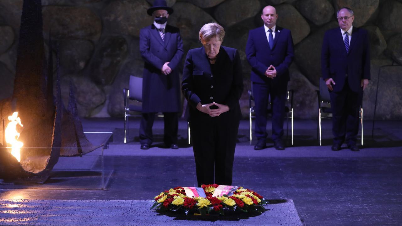 Merkel betont Verantwortung Deutschlands