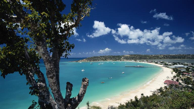 Küste von Anguilla