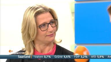 Die Spitzenkandidatin der Saar-SPD, Anke Rehlinger.