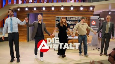 Die Anstalt vom 24.04.2018 mit Max, Claus, Katie, Timo und HG.