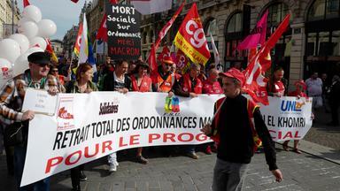 proteste gegen arbeitsmarktreformen