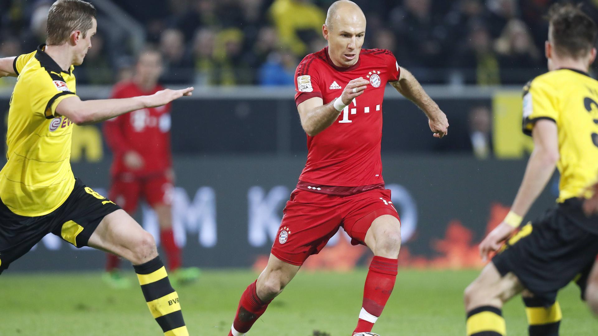 Arjen Robben gegen Borussia Dortmund
