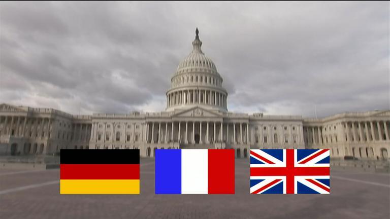 Kongress und Flaggen