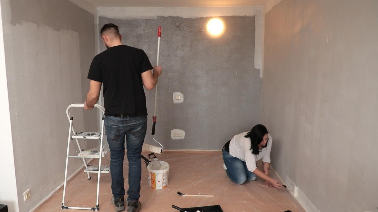 renovierte wohnung bei auszug renovieren. Black Bedroom Furniture Sets. Home Design Ideas