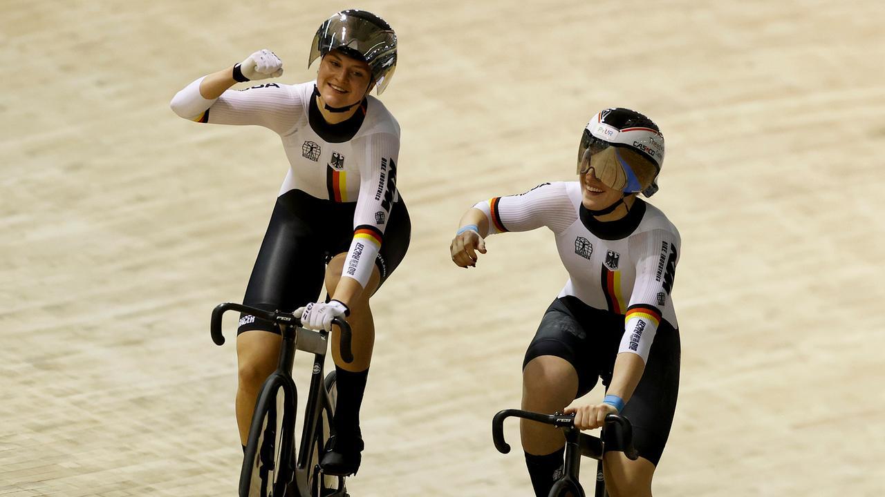 Bahnrad-WM: Gold und Weltrekord zum Auftakt