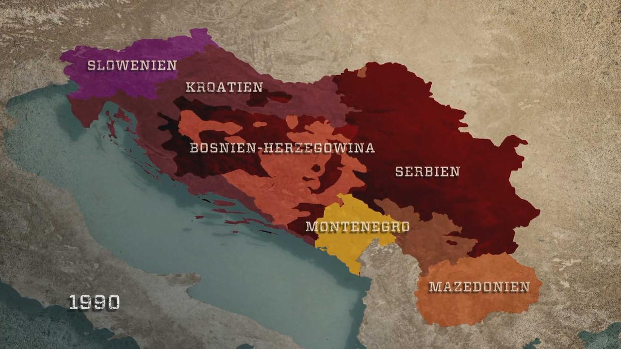 Jugoslawien Karte Früher.Balkan In Flammen Was Steht Hinter Serbiens Streben Nach Einheit