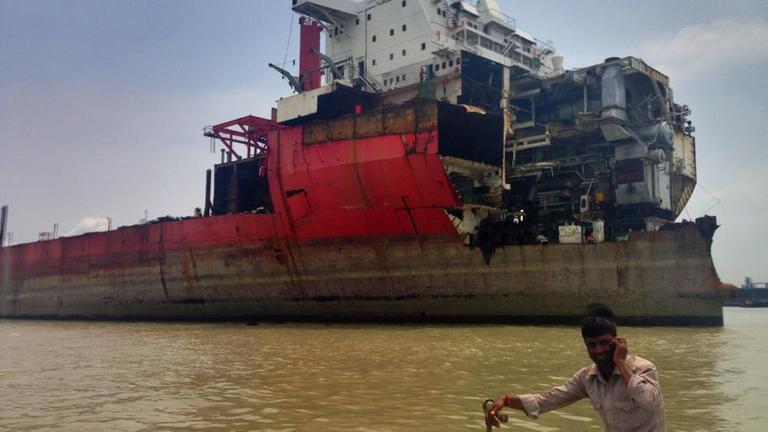Planet E Toxic Tankers For Bangladesh Zdfmediathek