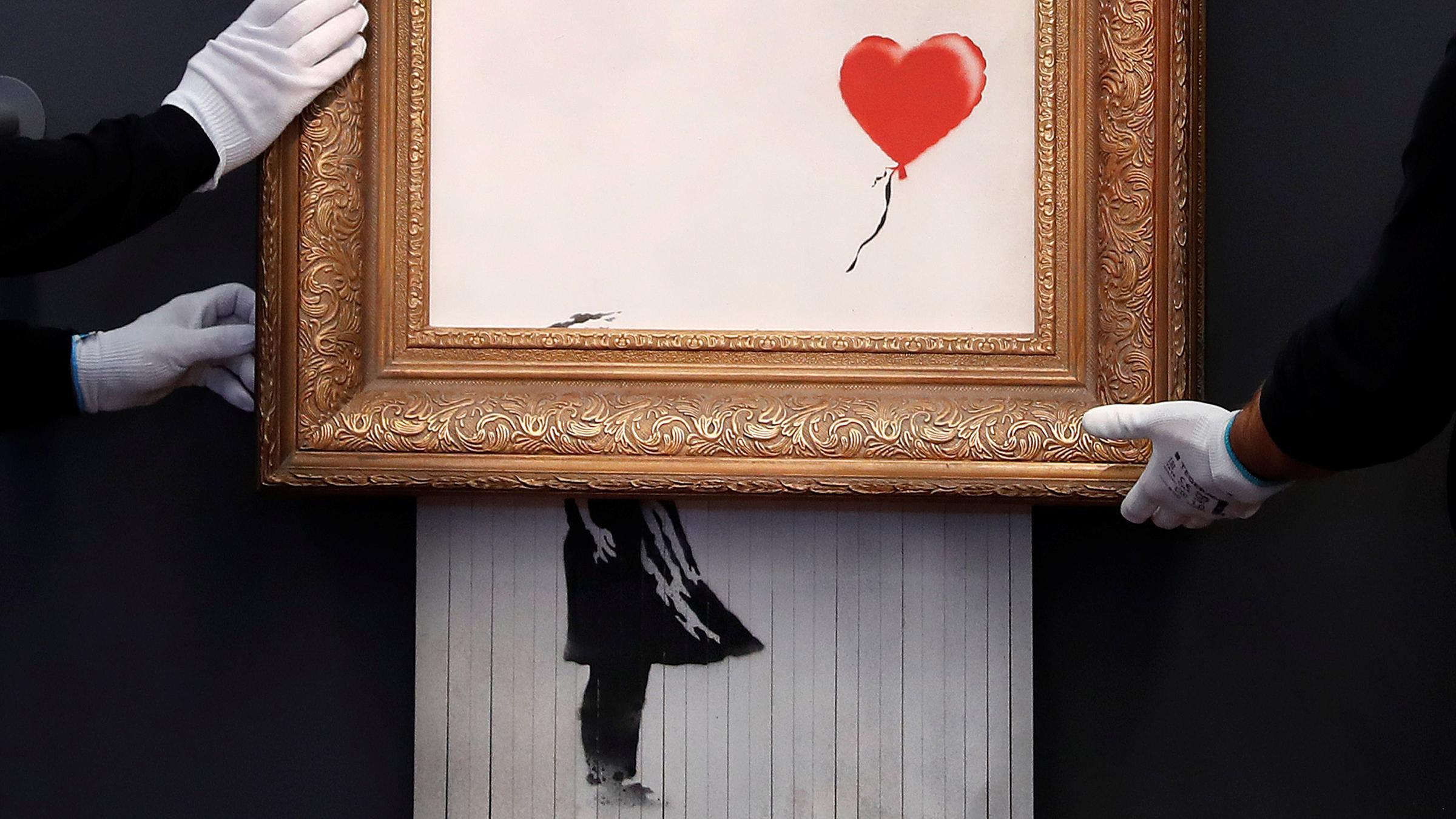 Banksy junge trifft mädchen