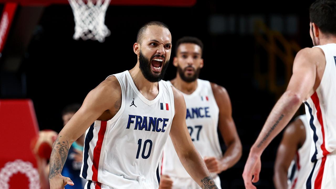 Frankreich - Slowenien 90:89 - Basketball | Olympia - Tokio 2020