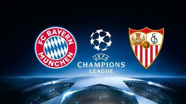 Uefa Champions League - Live Im Zdf - Fc Bayern - Fc Sevilla Am 11. April 2018