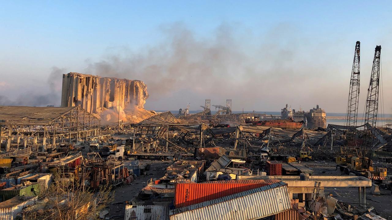 Detonation im Libanon: Was wir über die Explosion in Beirut wissen