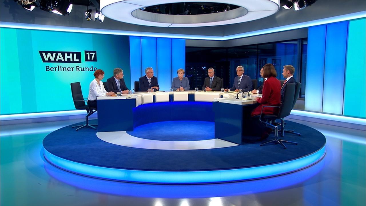 Berliner Runde Zur Bundestagswahl 2017 Zdfmediathek