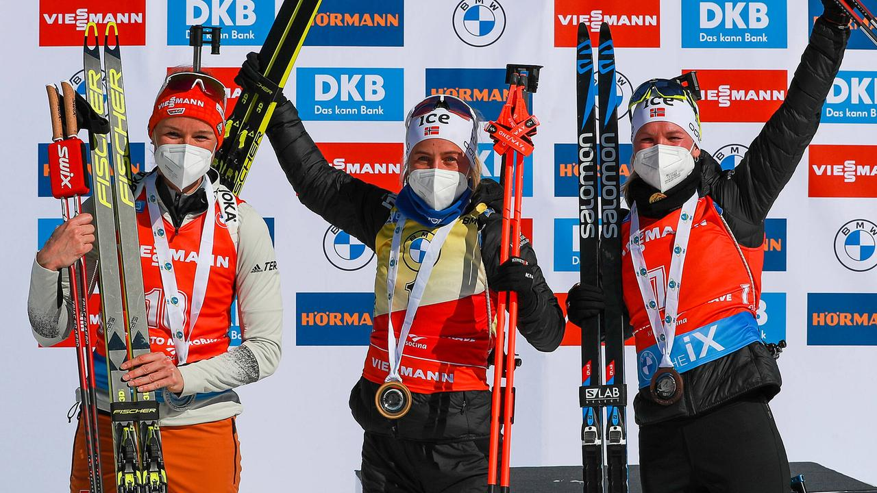 Biathlon: Zweites Saisonpodest für Herrmann - ZDFsport