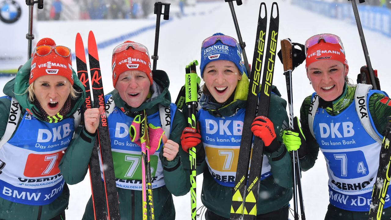 Staffel Damen Biathlon