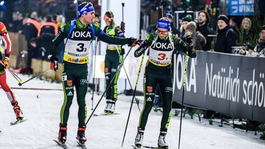Zdf Sportextra - Biathlon Auf Schalke: Massenstart Komplett