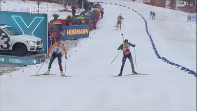 Wintersport: Biathlon, Skispringen, Ski-alpin U.v.m. - Live - Sprint Der Biathletinnen Und Super-g Der Männer
