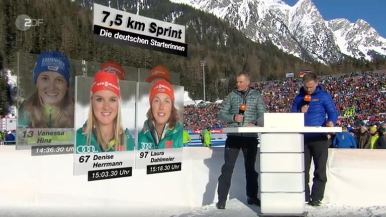Biathlon Weltcup In Antholz Am 24 Januar Zdfmediathek