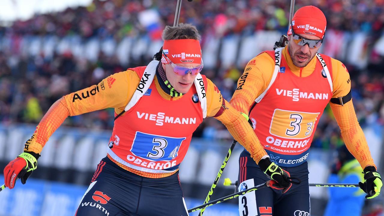 Biathlon Massenstart Männer