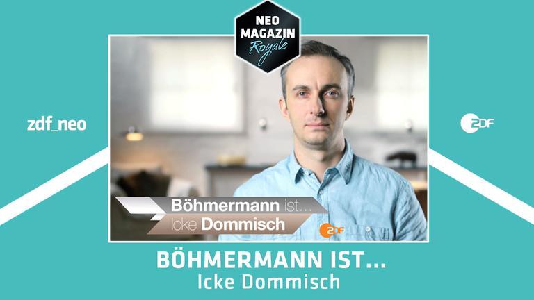 """Jan Böhmermann in """"Böhmermann ist ... Icke Dommisch"""""""