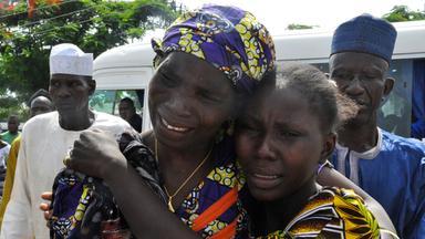Die Terrormiliz Boko Haram ließ 82 entführte Mädchen frei